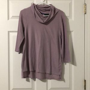 ❗️SALE W5 Lavender Cowl Neck Lightweight Sweater